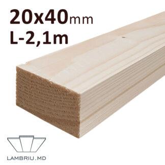 Rigla Lemn 20x40x2100