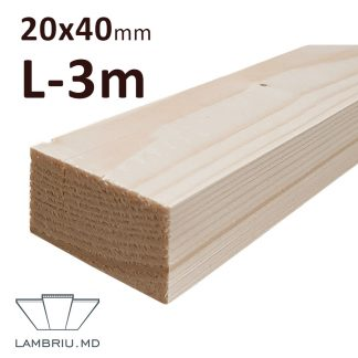 Rigla Lemn leat 20x40x3000