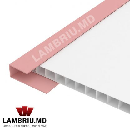 Profil terminatie lambriu PVC