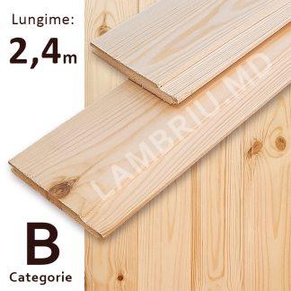 lambriu din lemn evrovagonca B 2,4 m