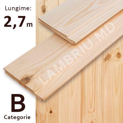 lambriu din lemn evrovagonca B 2,7 m