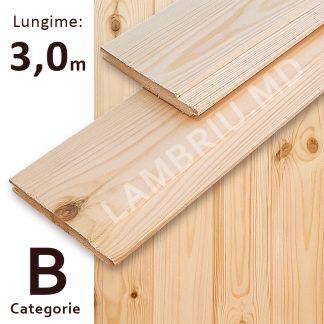 lambriu din lemn evrovagonca B 3 m