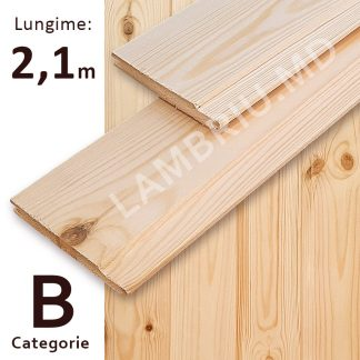 lambriu din lemn evrovagonca B 2,1 m