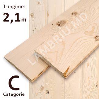lambriu vagonca din lemn C 2,1 m