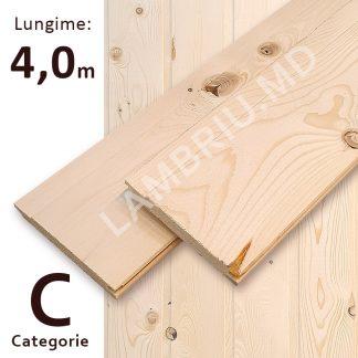 lambriu vagonca din lemn C 4,0 m