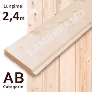 lambriu din lemn stili AB 2,4 m
