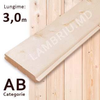 lambriu din lemn stili AB 3 m